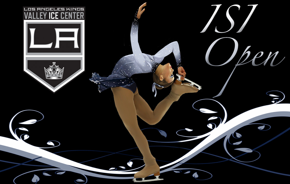 Los Angeles Kings Valley Ice Center ISI Open Logo